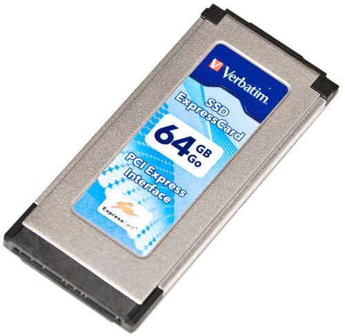 Verbatim SSD ExpressCard 64GB
