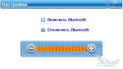 Настройки Bluetooth на Lexand ST-5350+. Рис. 1