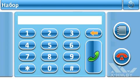 Набор номера через Bluetooth на Lexand ST-5350+