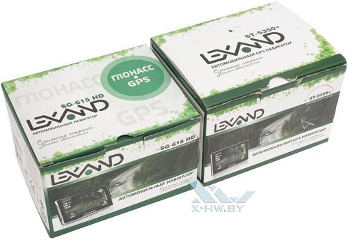 Коробки GPS-навигаторов Lexand ST-5350+ и SG-615 HD