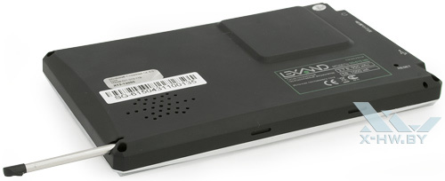 Отсек для стилуса на Lexand SG-615 HD