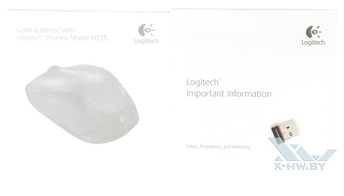 Комплектация Logitech Wireless M235