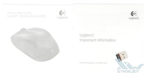 Комплектация Logitech Wireless M235
