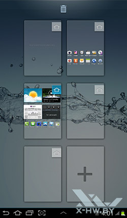 Рабочие столы Samsung Galaxy Tab 2 7.0