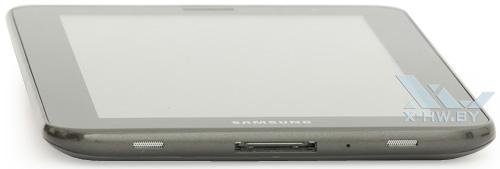 Нижний торец Samsung Galaxy Tab 2 7.0