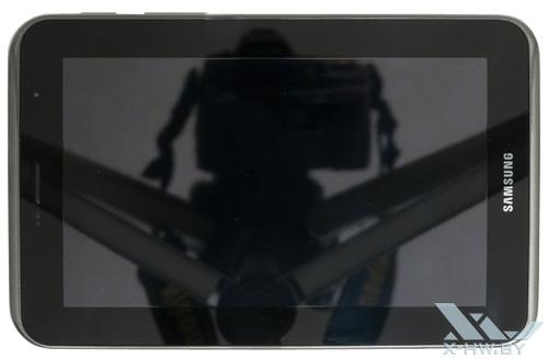 Samsung Galaxy Tab 2 7.0. Вид сверху