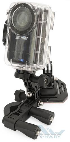 AdvoCam-HD1 в гермобоксе с креплением на трубу