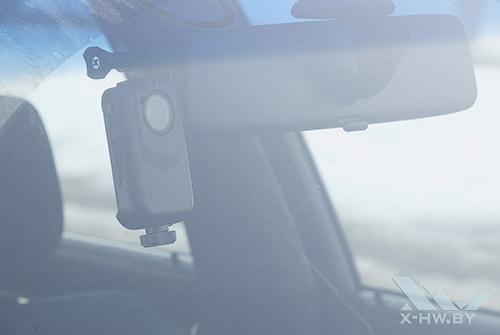 AdvoCam-HD1 в машине. Рис. 3