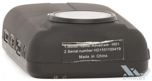 Верхний торец AdvoCam-HD1