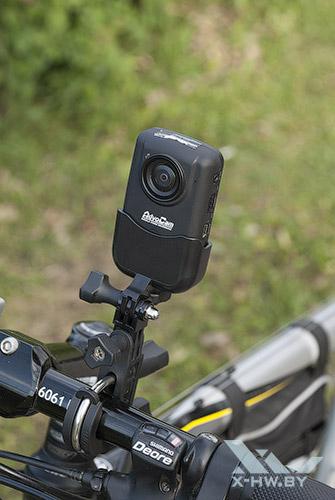 AdvoCam-HD1 на велосипеде. Рис. 2
