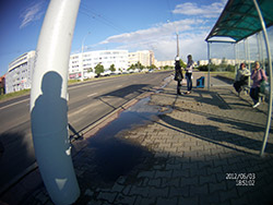 Пример съемки фотографий регистратором AdvoCam-HD1. Рис. 1