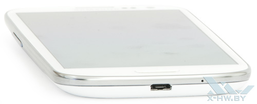 Нижний торец Samsung Galaxy S III