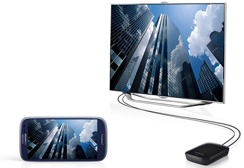 Медиа-хаб для Samsung Galaxy S III