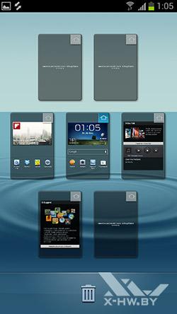 Рабочие столы Samsung Galaxy S III