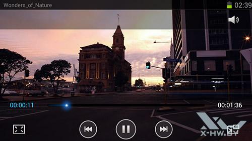 Видеоплеер на Samsung Galaxy S III. Рис. 3