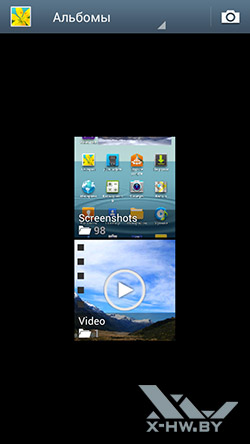 Галерея на Samsung Galaxy S III. Рис. 1