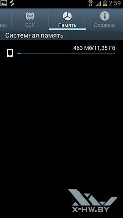 Диспетчер задач на Samsung Galaxy S III. Рис. 5