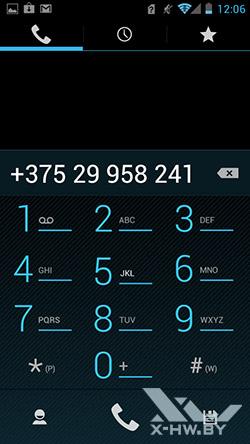 Приложение для совершения звонков Huawei Ascend P1
