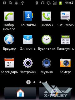 Приложения Huawei Ascend Y100. Рис. 1
