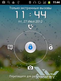 Экран блокировки Huawei Ascend Y100