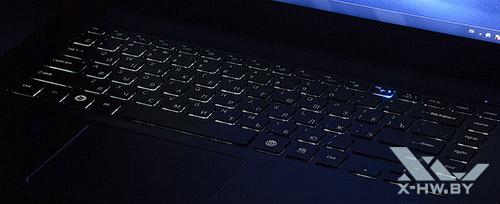 Подсветка клавиатуры Samsung 900X4C. Рис. 2
