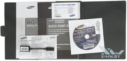 Комплектация Samsung 900X4C