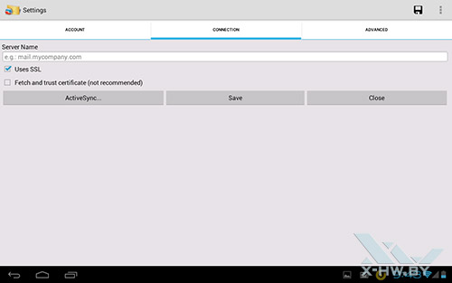 Клиент iTap mobile RDP на Fujitsu STYLISTIC M532. Рис. 4