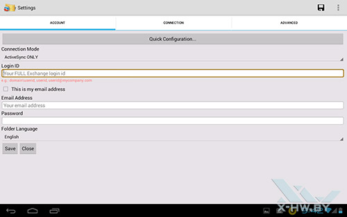 Клиент iTap mobile RDP на Fujitsu STYLISTIC M532. Рис. 5