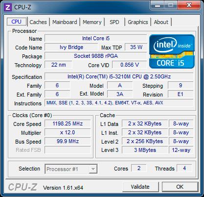 Процессор Fujitsu LIFEBOOK NH532