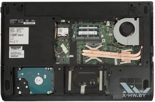 Возможности обновления Fujitsu LIFEBOOK NH532