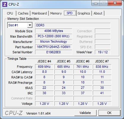 Модуль памяти Fujitsu LIFEBOOK UH572