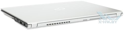 Fujitsu LIFEBOOK UH572. Вид сзади