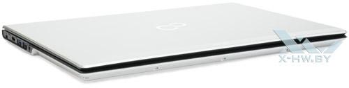 Fujitsu LIFEBOOK UH572. Вид спереди