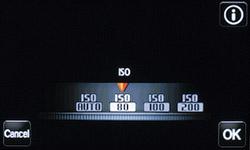 Настройка ISO на Samsung MV800