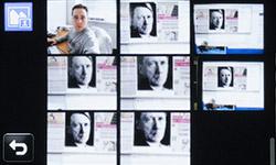 Список автопортретов на Samsung MV800