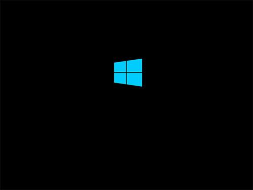 Стартовый экран загрузки Windows 8