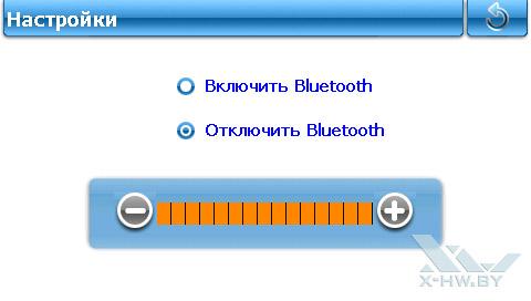 Настройки Bluetooth на Lexand SU-533