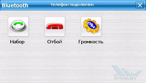 Набор номер через Bluetooth на Lexand SU-533