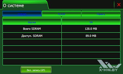 Характеристики Lexand SR-5550 HD. Рис. 2