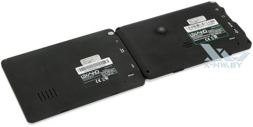 Lexand SR-5550 HD и Lexand SU-533. Вид сзади