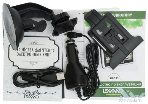 Комплект поставки Lexand SR-5550 HD