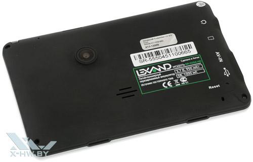 Lexand SR-5550 HD. Вид сзади