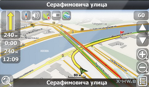 Навигация Lexand SU-533