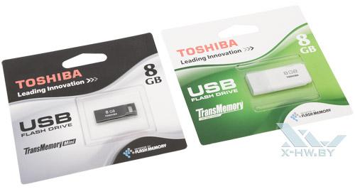 Toshiba Hayabusa и Toshiba Suruga в упаковке