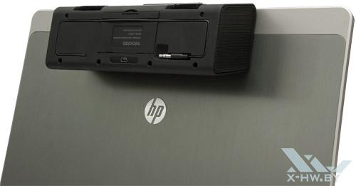 Microlab MD220 на ноутбуке. Вид сзади