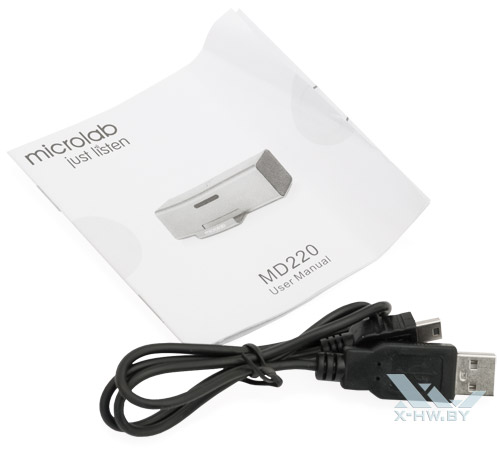 Комплектация Microlab MD220