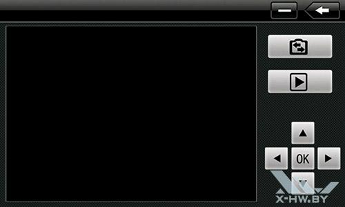 Интерфейс для управления видеорегистратором Lexand STR-7100 HDR. Рис. 1