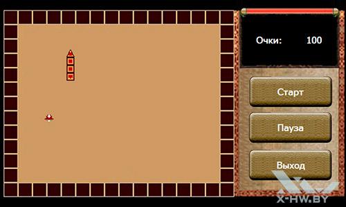 Игра Змейка на Lexand STR-7100 HDR