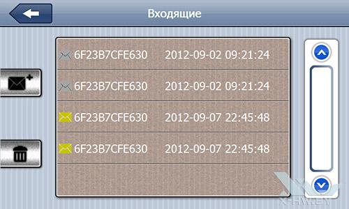 Список входящих на Lexand STR-7100 PRO HD