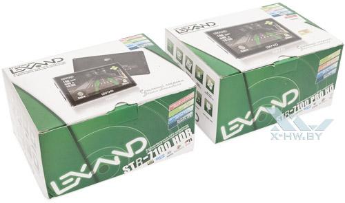 Упаковка Lexand STR-7100 HDR и Lexand STR-7100 PRO HD